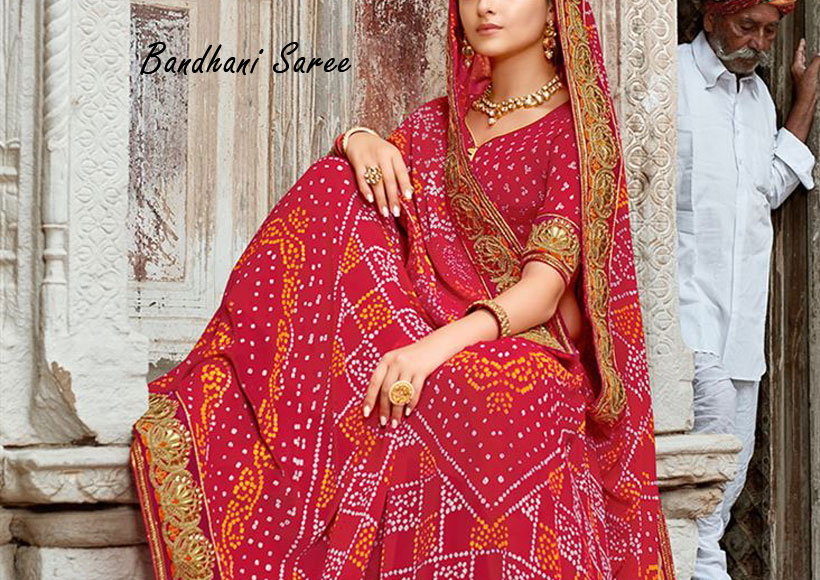 The Best Admirable Bandhani Saree Designs You should Buy that Heightens the Vibe Around You