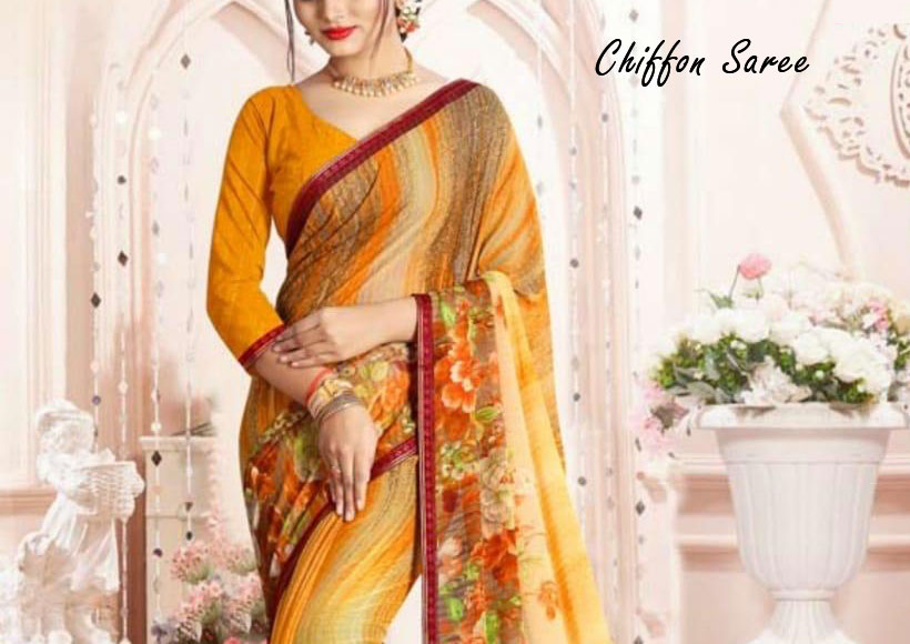 Want to Buy a Delightful Chiffon Saree for Wedding or Daily Wear, This Guide will help You