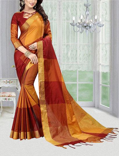 Cotton-Silk-Saree