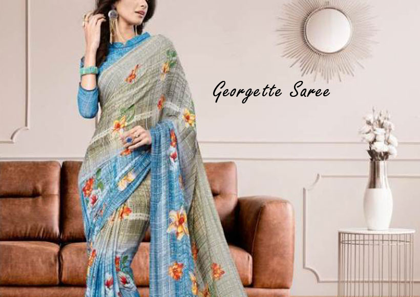 Want to Buy a Classic Georgette Saree for Wedding or Party Wear, this Guide will help You