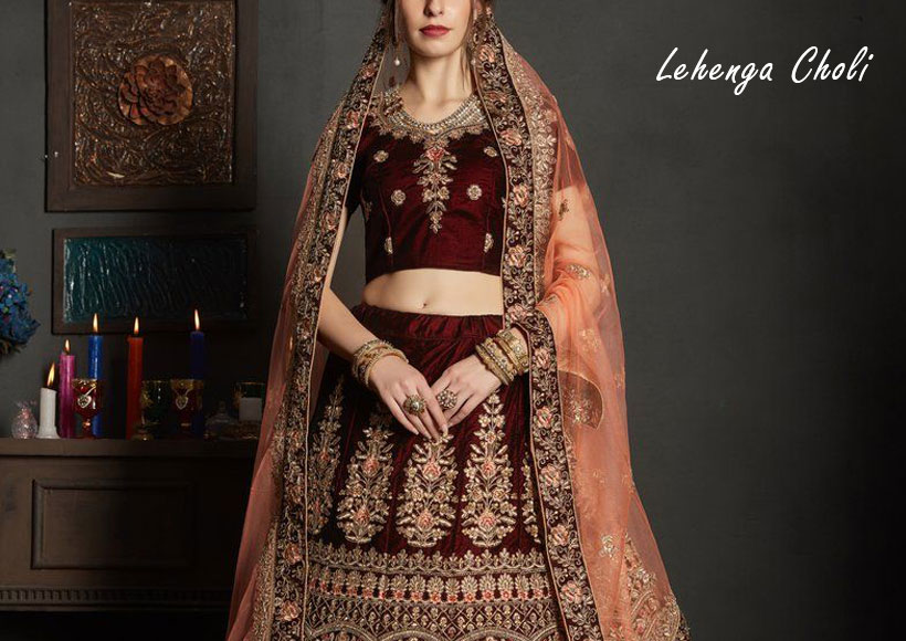 How to Get Marvelous Lehenga Choli Perfect for any Wedding