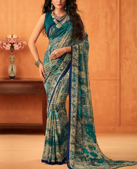Printed-Georgette-Saree-Blog