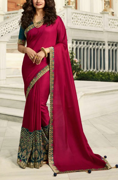 Rangoli-Silk-Saree-Broket-Border