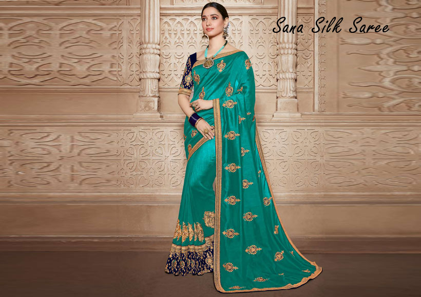 The Best Elegant Sana Silk Sarees You can Buy in Wholesale