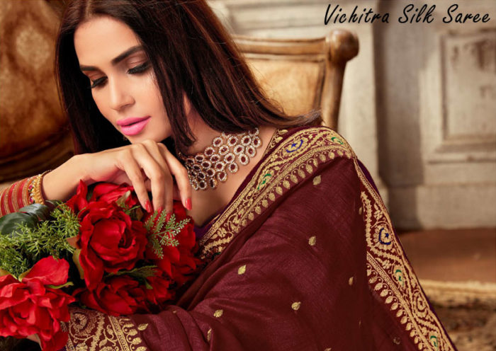 Vichitra-Silk-Saree