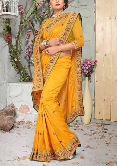 Vichitra-Silk-Saree-Image-2