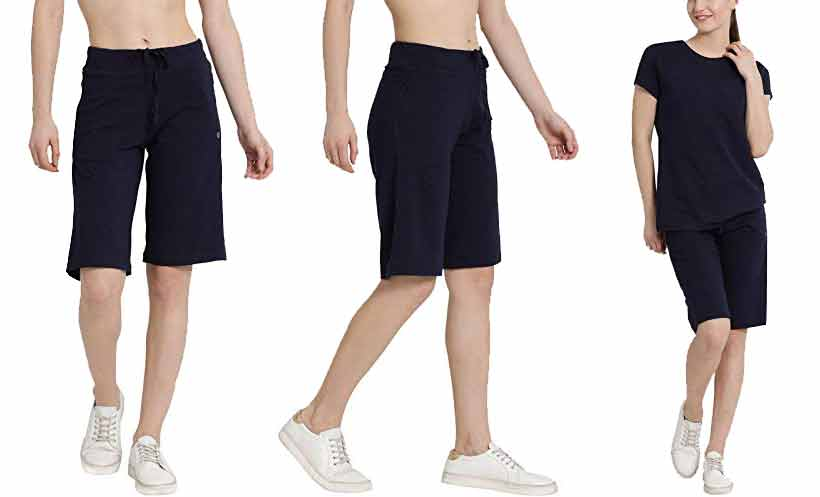 Knee-Length-Shorts-for-Women